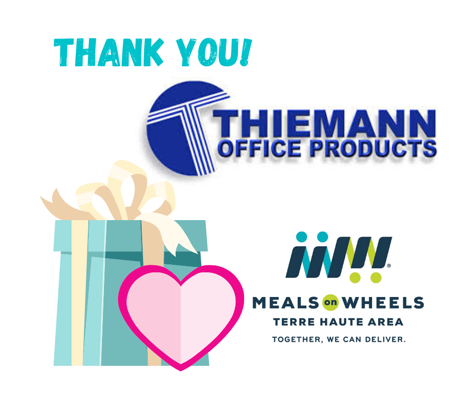 Thiemann's is our office supply provider, and sent us a COVID-19 order with the bill paid in full!
