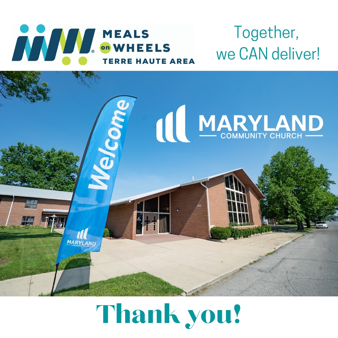 Maryland Community Church came to the rescue during the start of COVID-19, provided needed delivery drivers for our routes!
