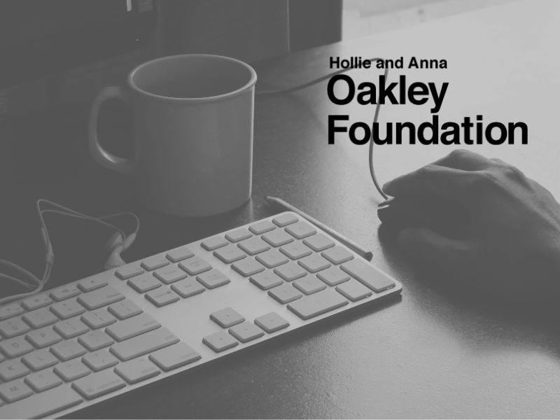 The Oakley Foundation has helped provide technology for our offices in the past, and this year they helped us get a new software system to manage our programs.